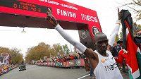 Eliud Kipchoge překonal dvouhodinovou hranici na maratonské trati.