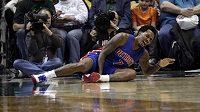 Zraněný basketbalista Detroitu Brandon Jennings