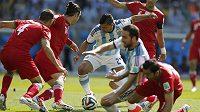 Sergio Agüero zřejmě opustí turnaj bez vstřelené branky.
