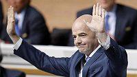 Nový prezident FIFA Gianni Infantino.