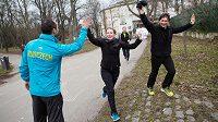 Radost z běhu je nejvíce.