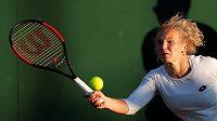 Česká tenistka Kateřina Siniaková během Wimbledonu.