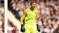 Český brankář Zdeněk Zlámal je ve Skotsku spokojený, obléká dres Hearts.