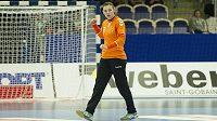 Česká reprezentantka Lucie Satrapová (na snímku) zápas proti Maďarsku nedochytala.