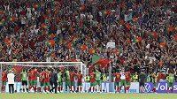 Zaplněnou Puskas Arenu poznali během ME i fotbalisté Portugalska.