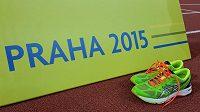 Asics Gel-DS Trainer 20 si zaběhaly i na ME v atletice Praha 2015 - v rámci závodu pro zástupce médií.