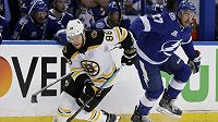 Český útočník David Pastrňák projevil zájem o start na mistrovství světa v Dánsku. Pustí ho Boston Bruins na šampionát?