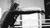 Lucie Pudilová při tréninku. Jak dopadne v dalším zápase v UFC?