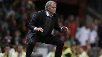 Trenér londýnské Chelsea José Mourinho.
