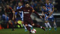 Hvězdný Lionel Messi jako penaltový exekutor tentokrát selhal.