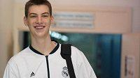 Mladý basketbalista Olivier Rioux.