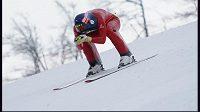 Rychlostní lyžař Radek Čermák.