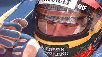 Exmistr světa v závodech vozů formule 1 Jacques Villeneuve.