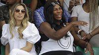 Serena Williamsová přijela na French Open povzbudit svou sestru Venus.