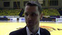 Trenér Lubomír Růžička.