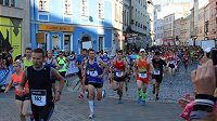 Olomoucký půlmaratón. Na trať se loni vydalo 5500 běžců.
