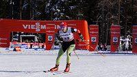 Běžkyně na lyžích Eva Vrabcová-Nývltová při sprintu v Lenzerheide.