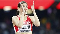 Překážkářka Zuzana Hejnová se raduje! Na MS v Londýně poběží finále.