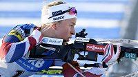 Tiril Eckhoffová musela před olympijskou sezónou také trénovat zrak.