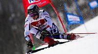 Kryštof Krýzl během obřího slalomu v japonské Naebě. (ilustrační foto)
