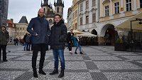 Vlastníci společnosti K2K Sport Entertainment Karol Kisel (vpravo) a Martin Latka.