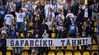 Fanoušci Baníku na Julisce znovu vyjádřili nespokojenost s šéfem ostravského klubu.