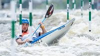 Olympijský vítěz ve vodním slalomu Jiří Prskavec.