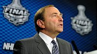 Šéf NHL Gary Bettman.
