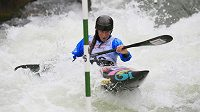 Kateřina Kudějová si jede pro vítězství v kvalifikaci SP v Augsburgu.