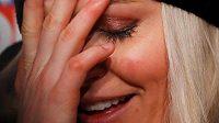 Lindsey Vonnová brala svůj výpadek v superobřím slalomu na MS sportovně.