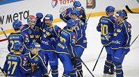 Švédští hokejisté předvedli proti Čechům obrat z 0:2 na 3:2.