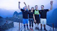 Dan Berlin dobyl Machu Picchu.