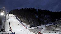 Na můstku v Oberstdorfu se dnes létat nebude.