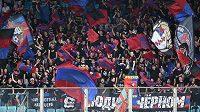 Fanoušci CSKA Moskva.