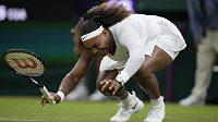 Serena Williamsová skončila v slzách. Turnaj pro ni skončil.