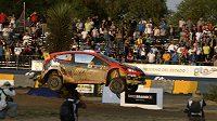 Martin Prokop s Fordem Fiesta WRC na trati Mexické rallye.