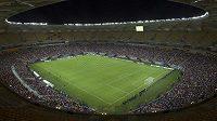 Fotbalový stadión v Manausu, dějiště zápasů nadcházejícího MS.