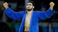 Ruský judista Chasan Chalmurzajev získal olympijské zlato ve váze do 81 kilogramů.