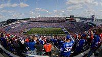 New Era Stadium v New Yorku při zápase NFL mezi Jets a Buffalo Bills. Ilustrační foto.