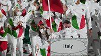 Nástup Italů při zahájení v Tokiu, ilustrační foto.