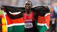 Objeví se keňský světový rekordman David Rudisha na ostravské Zlaté tretře?