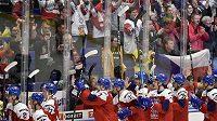 Na podporu diváků bude česká hokejová dvacítka ve čtvrtfinálové bitvě se Švédy znovu spoléhat.