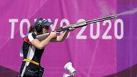 Barbora Šumová během olympijského závodu.