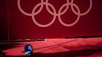 Součástí olympijských her v Tokiu bude i soutěž šermířů.