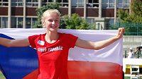 Mladá česká výškařka Michaela Hrubá získala na světovém šampionátu juniorů v Eugene senzační stříbro.