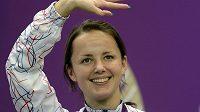 Adéla Sýkorová kyne do hlediště, získala olympijský bronz.