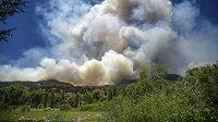 Požár - ilustrační snímek.