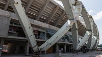 Na stadiónu Manaus stále probíhají stavitelské práce před šampionátem, který se uskuteční v roce 2014.