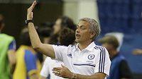 Manažer Chelsea José Mourinho.