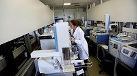 Laboratoř dopingové kontroly v Riu.